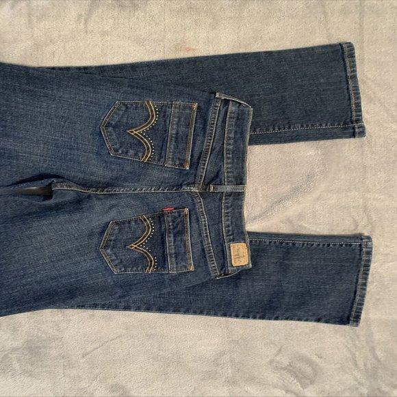 Levis 515 Womens Boot Cut Stretch Denim Jeans Sz 6